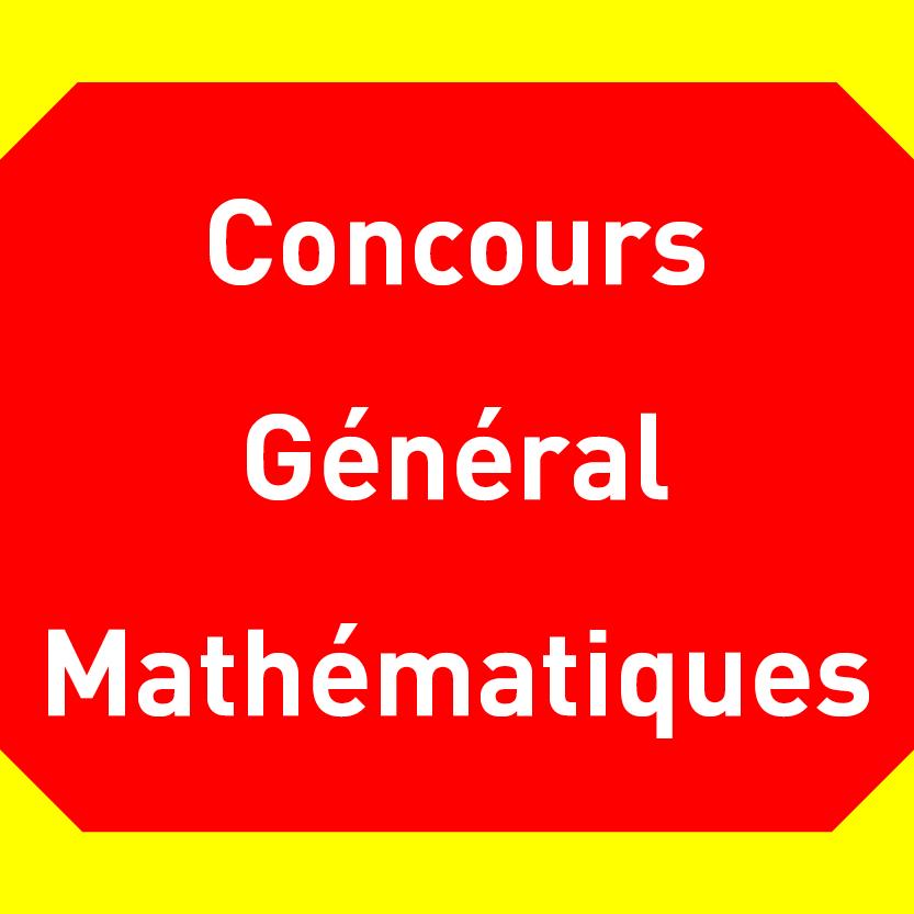 Freemaths - Concours Général : Composition de Mathématiques